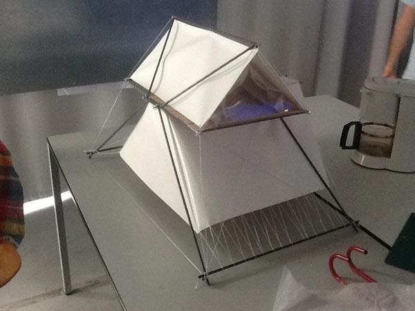 La Superpausée : un hébergement insolite en tente design et contemporaine