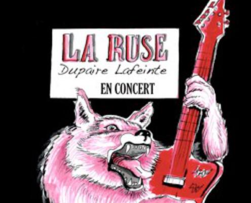 concert Rock Guinguette LA RUSE !
